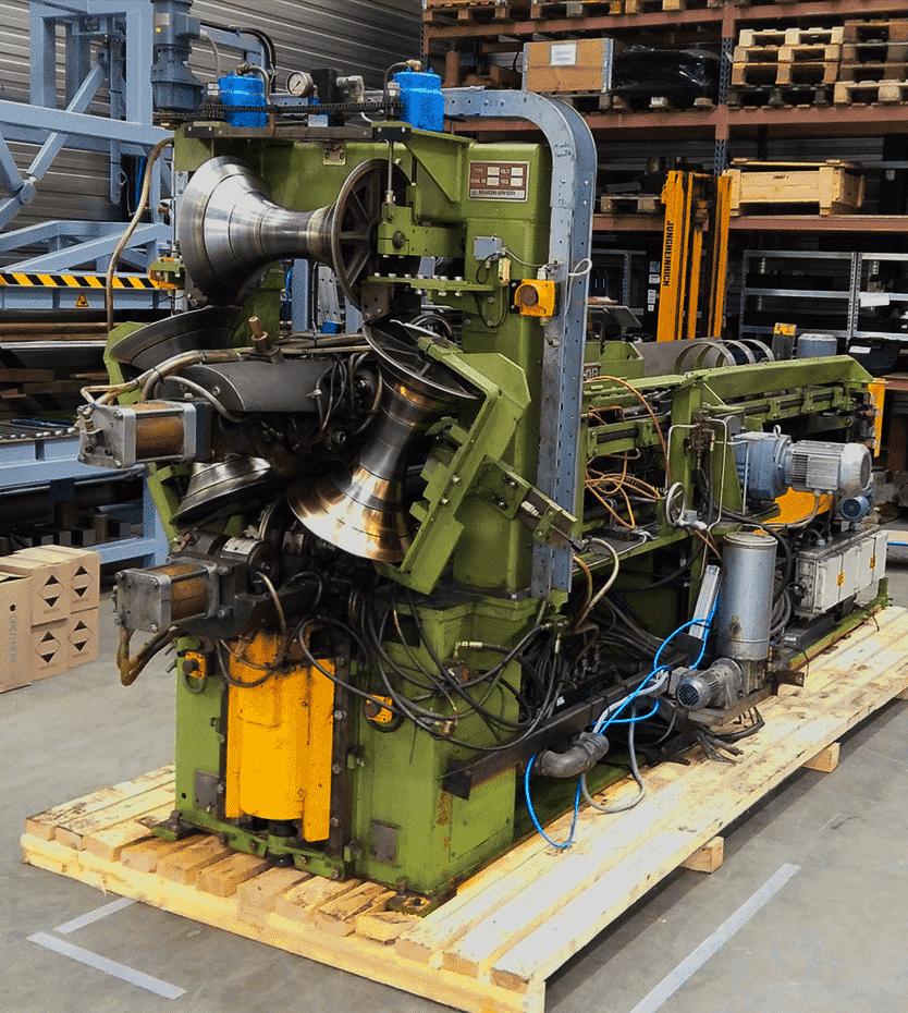 Newcor drum welding machine before overhaul
