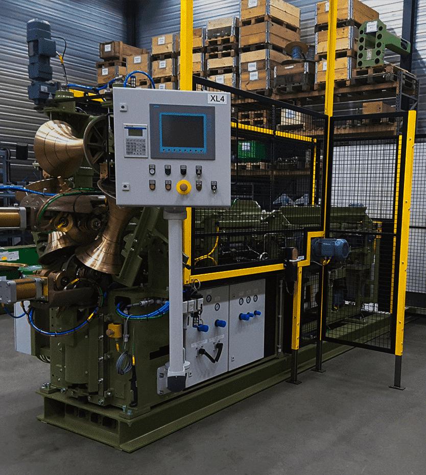 Newcor drum welding machine after overhaul